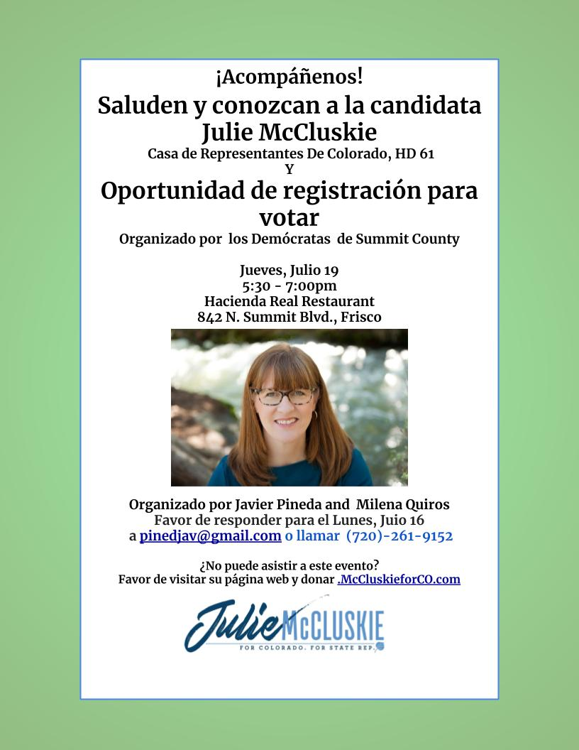 2018-07-19 Spanish-language Meet & Greet